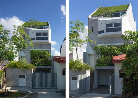 narrow terraced house design a d lab s terraced rienzi house in singapore is encompassed by greenery inhabitat