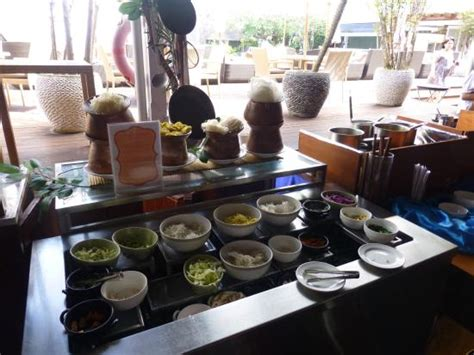 breakfast area foto de  kuta beach heritage
