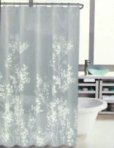 hillcrest curtains hillcrest shower curtain floral border print grey white