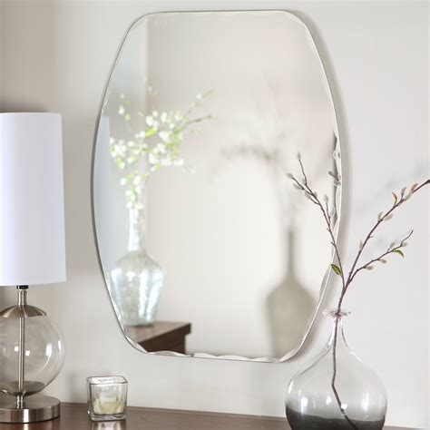 mirrors bathroom home wall