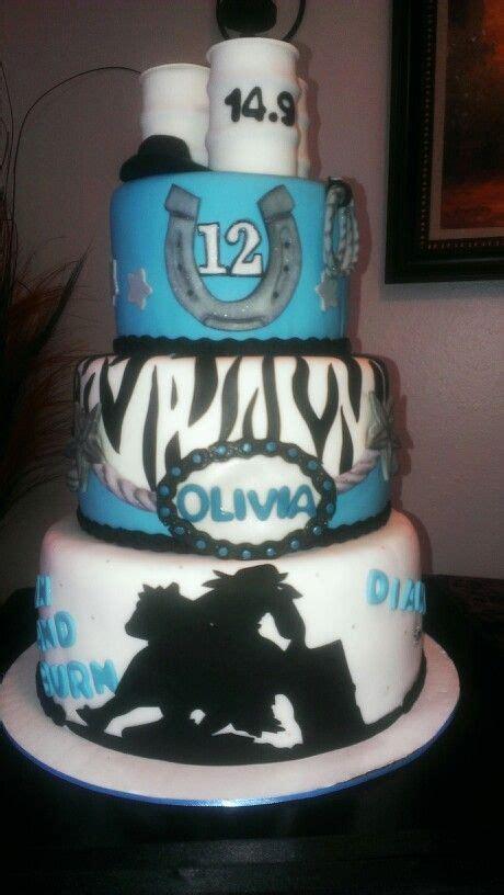 barrel racing girl birthday cake cakes pinterest girl birthday birthday cakes  barrels