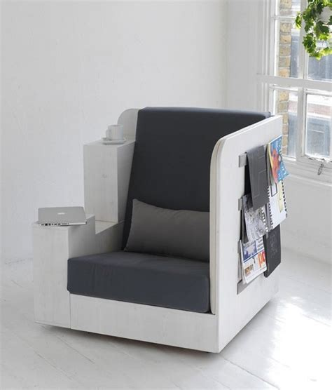 Armchair With Storage 13 Chairs With Built In Storage For Your Favorite Books