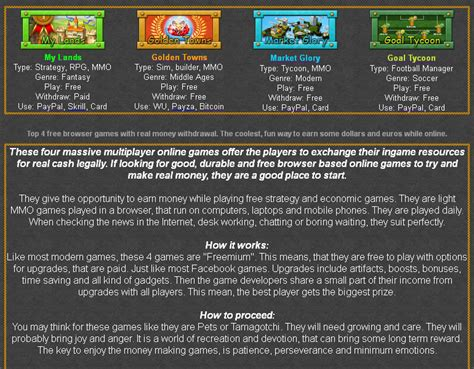Free Ways To Win Real Money Online - play free games get paid in real money infogames co