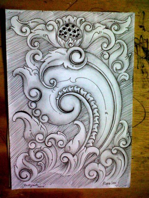 rupa rupa seni rupa cara menggambar ornamen tradisional untuk pemula dan pelajar