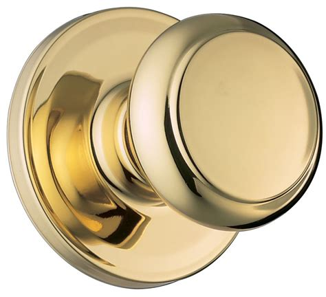 Knob Clipart by Weiser Lock Ga101t3 Polished Brass Troy Passage Door Knob