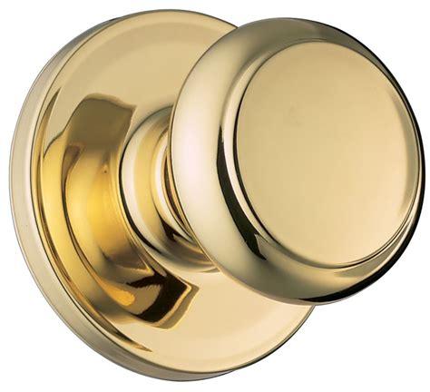 Door Knob Clipart by Weiser Lock Ga101t3 Polished Brass Troy Passage Door Knob