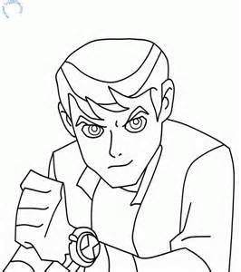 ben ten drawings coloring