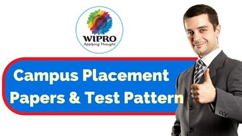 test pattern of wipro wipro placement papers test pattern for placement