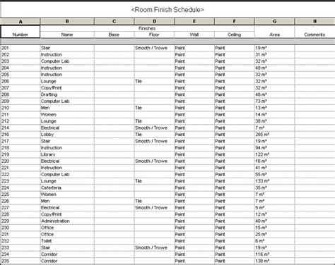 Index Of Cdn 3 1997 620 Interior Design Finish Schedule Template