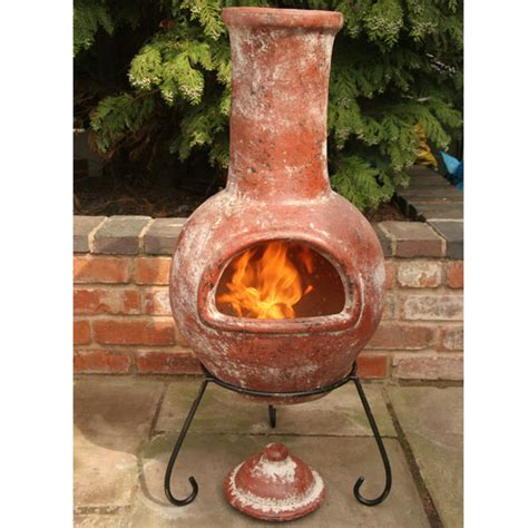 Clay Chiminea Home Depot Chimineas Large Sale Fast Delivery Greenfingers