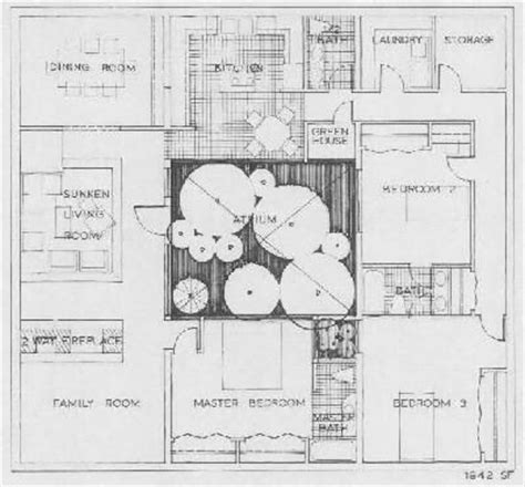 house plans with atrium in center 1000 images about atrium house plans on pinterest