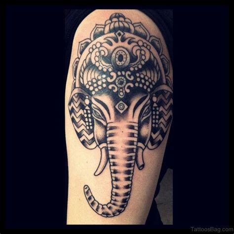 tribal ganesh tattoo 92 lord ganesha tattoos on shoulder