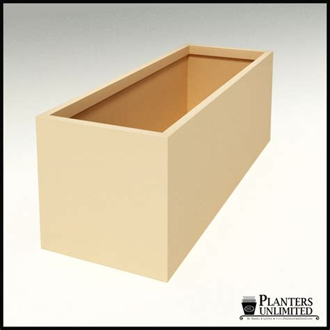 modern rectangle planter 84in l x 30in w x 30in h