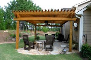 Patios With Pergolas by Gallery For Gt Flagstone Patio With Pergola
