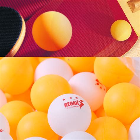 50pcs 3 40mm Olympic Table Tennis Balls Ping Pong Balls Orange Hu 50pcs 3 40mm white orange olympic ping pong table