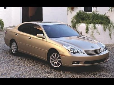 lexus es 2003 2003 lexus es300 start up and review 3 0 l v6 youtube