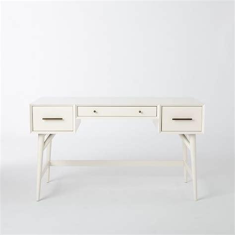 west elm mid century desk mid century desk white west elm