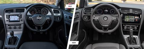 New Golf Interior by The Differences Between The 2017 Vw Golf Sportwagen Free