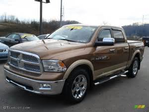 2011 saddle brown pearl dodge ram 1500 laramie crew cab