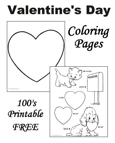 preschool coloring pages valentines day preschool valentine s day coloring pages