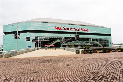smoothie king center  orleans attraction