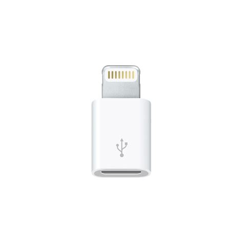 Connector Lightning To Usb Apple lightning to micro usb adapter apple