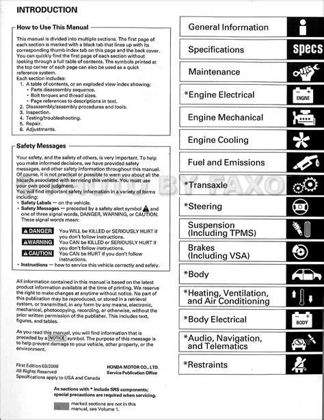 service manual 2009 acura tl engine workshop manual 2009 acura tl repair manual cardtopp 2009 acura tl repair shop manual original 2 volume set