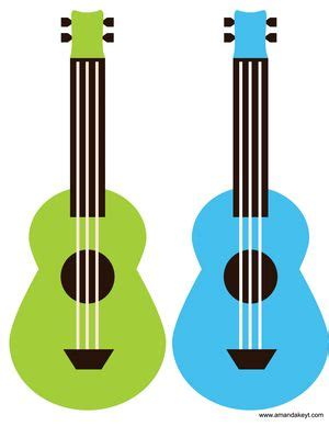 Ukuleles From Mickey Friends Luau Inspired Printable | ukuleles from mickey friends luau inspired printable