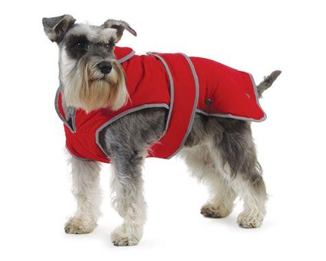 puppy coat ancol stormguard fleece lined showerproof coat