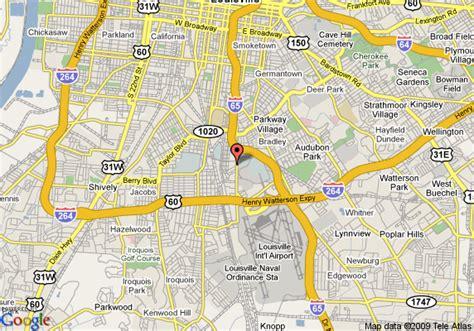 kentucky fairgrounds map map of ramada limited suites airport fair expo center