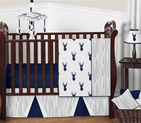 deer crib bedding set woodland deer baby bedding 11pc boys crib set by sweet