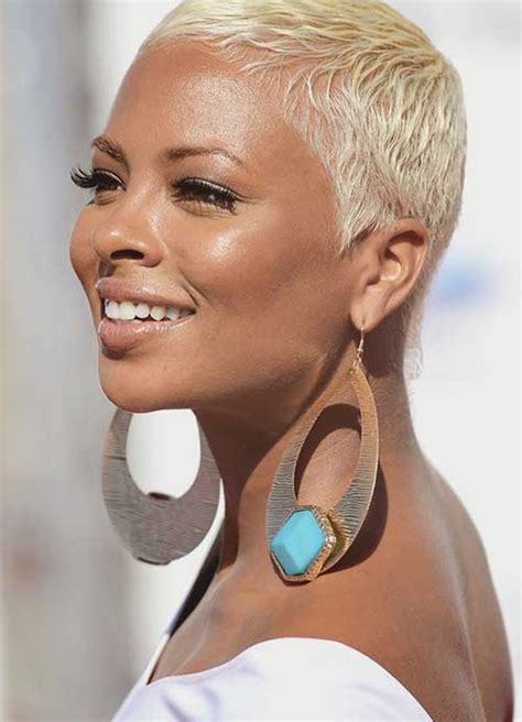 african dyed short hair 15 shaved pixie haircuts pixie cut 2015