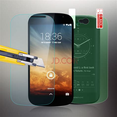 Tempered Glass Screen Yotaphone 2 ヾ ノtempered Glass Screen Protector ᗔ For For Yotaphone