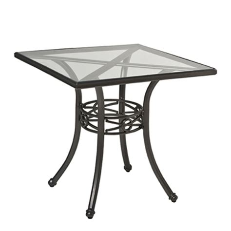 woodard 850530 delphi 30 inch square dining table discount