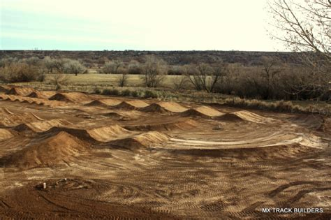 supercross track built at moto ranch racer x