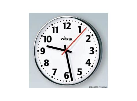 analog wall clock numerals analog wall clock ntp 300mm white arabic numerals