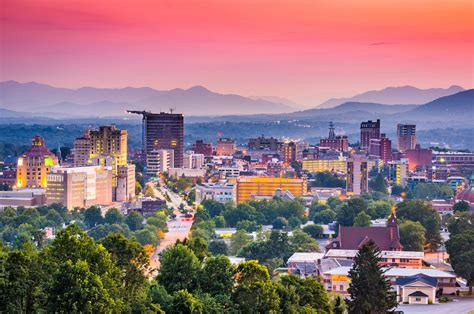 Ideal Image Asheville Carolina visiting small town asheville drive the nation