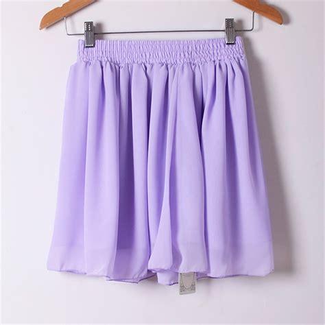 Light Purple Skirt by 2015 Saia Faldas Casual Chiffon Summer Style Tulle