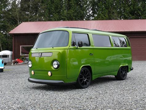 volkswagen bus 1972 vw bus with a subaru ej25 engine swap