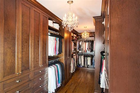 Custom Wood Closet Systems by Closet Systems Northbrook