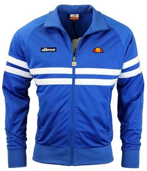 Ellesse Kalgaris Fz Track Top Original ellesse rimini 2 retro 1980s chest stripe track top princess blue