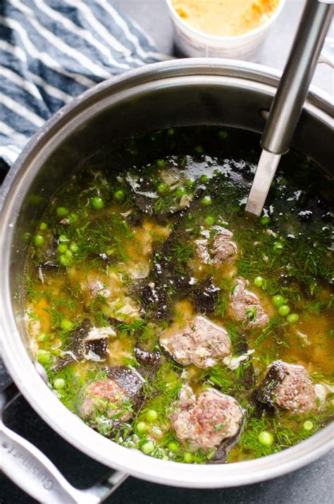easy miso soup  meatballs ifoodreal