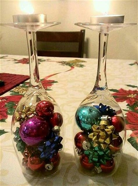 wine glass christmas decorations christmas ideas pinterest