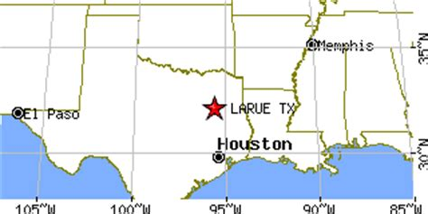 larue texas map larue texas tx population data races housing economy
