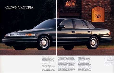 how to learn about cars 1995 ford crown victoria windshield wipe control auto brochures
