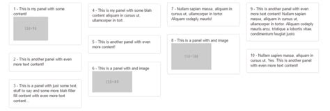 masonry layout bootstrap varying column heights in bootstrap wdstack medium