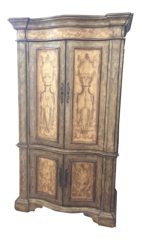hand painted armoires hooker furniture hand painted armoire chairish
