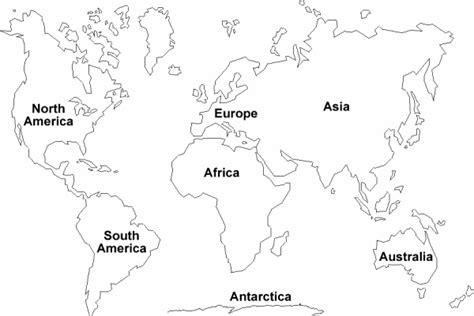 mapa del mundo en blanco y negro mapa de los continentes blanco y negro para imprimir