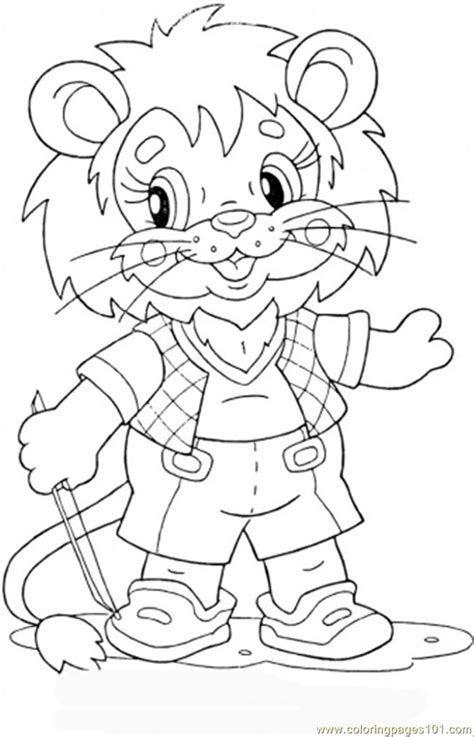 coloring page lion cub free coloring pages of baby lion cub