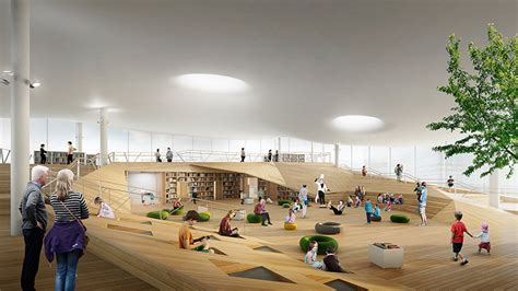 New Open Floor Plans helsinki central library emerges from the needs of city